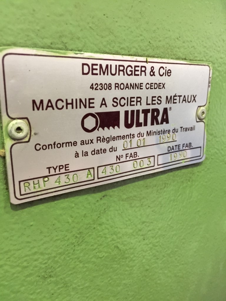 Полуавтоматический ленточнопильный станок ULTRA